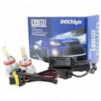Kit Lâmpada Led Do Farol Shocklight H11 32w 2200 Lumem Headlight