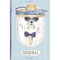 Journal: For People Who Love Maltese [6x9 Lined]