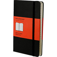Caderno de Anotações Moleskine Address Book - Pocket