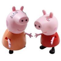 Bonecas Estrela Peppa Pig e Mãe