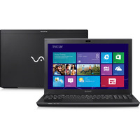 Notebook Sony Vaio SVS15125CBB Core i7 3520M 2.9GHz 6GB 750GB Intel Windows 8