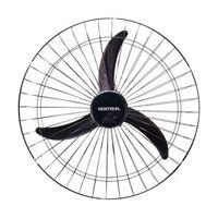 Ventilador de Parede Ventisol 60cm Preto Grade Aço 127V