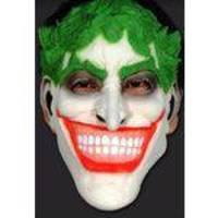 Máscara Joker Coringa Vilão Batman Fantasia Cosplay Látex
