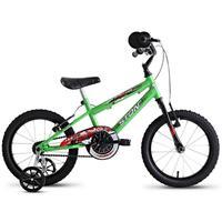 Bicicleta Infantil Stone Bike Hot Jr Aro 16 Masculina Verde