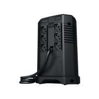 Estabilizador Microsol Hexus 500VA 110V Preto