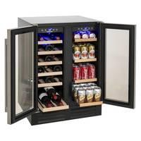 Adega De Vinhos e Frigobar 2 Portas Built In Prime Cooking Cuisinart 220V