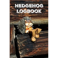 Hedgehog Logbook: Handy logbook to write down important info about your pet hedgehog, a cool lined notebook for people who love Hedgies.