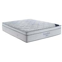 Colchão King Size Ortobom Freedom com Pillow Top e Molas Pocket 32x186x198cm