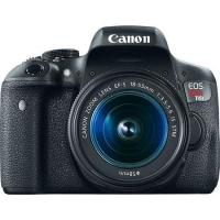 Câmera Digital Canon EOS T6i EF-S 18-55mm