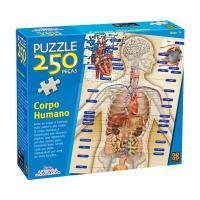 Quebra-Cabeça Corpo Humano 250 Pçs Hasbro