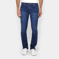 Calça Jeans Reta Lacoste Straight Fit Stone Masculina - Masculino