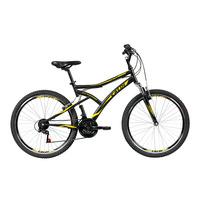 Bicicleta Caloi Aro 26 21 Marchas Andes Mountain Bike Preta