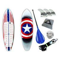 Prancha Soul Fins Stand Up Paddle America 100 + Acessórios Multicolorido