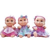 Bonecas Candide Bebê Babies Expressões Trigêmeas
