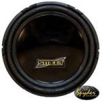 Subwoofer Spyder Street Sp12-800 12? 200w Rms 2ohms Parabólico
