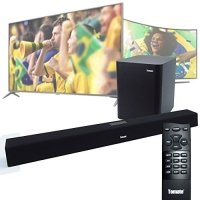 Soundbar Tomate 120w Caixa De Som Bluetooth Rca Cinema Home