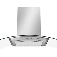 Coifa De Parede Philco Inox 90cm Com Vidro Curvo 3 Velocidades Glass 90