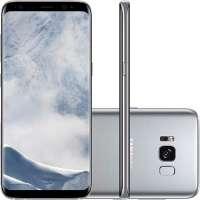 Smartphone Samsung Galaxy S8 SM-G950FD Desbloqueado GSM Dual Chip Tela 5.8 64GB Android 7.0 Prata