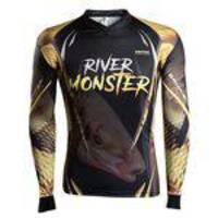 Camisa de Pesca Brk River Monster Piapara - Tamanho M
