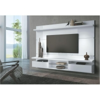 Painel HB Móveis Home Theater Suspenso Livin 2.2 Branco