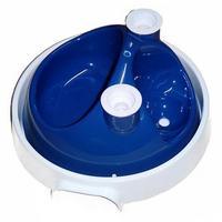 Bebedouro e Comedouro System Ball Jetaplast Azul