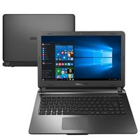 "Notebook Compaq Presario CQ31 Intel Celeron N3060 4GB 500GB 1.6GHz 14"" Windows 10 Preto"