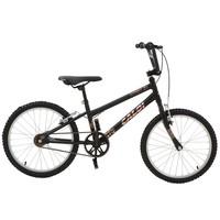 Bicicleta Caloi Expert Aro 20 Quadro Aço Carbono Freio V-brake Preto Fosco
