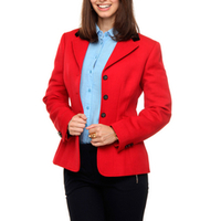 Blazer Gant Shaped Wool Feminina
