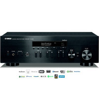 Receiver Stereo Hi-Fi Network Yamaha R-N402 Wireless Bluetooth AirPlay MusicCast USB Bivolt