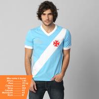 Camiseta Vasco nº 1 Martin Silva Masculina Azul Clara  5292f8fe7f317
