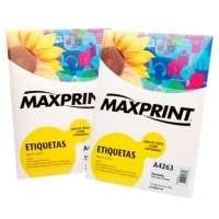 Etiqueta Para Impressora A Laser Com 100 Folhas 31 0x17 0mm 494393 Maxprint
