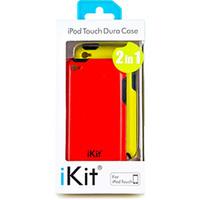 Capa iKit para iPod Touch 2 em 1 Dura Case Vermelha e Amarela