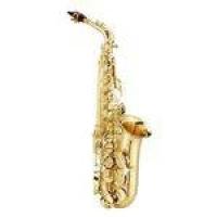 Saxofone Alto Jupiter 567 Jas500 Gold Lacquer Com Afinação Em Mi Bemol