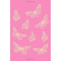 Journal: Cute Butterfly 6 X 9 Exploring Nature Notebook for Kids with 110 Lightly Lined Blank Pages for Observations and Thoughts