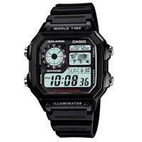 fea02fe8fe1 Relógio Casio Multifunção AE1200WH1AVDF Digital Masculino Preto