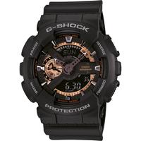 Relógio G-Shock Digital Preto e Bronze