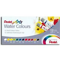 Aquarela Pentel Water Colours WFRS-12 12 Cores