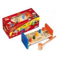 Brinquedo Xalingo Bate Pinos Turma Da Mônica 7 Peças 52854