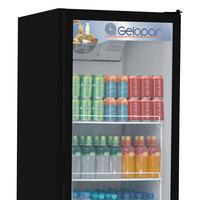 Refrigerador de Bebidas Vertical Gelopar Frost Free GPTU-570 578 Litros Preto