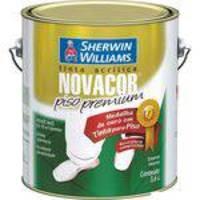 Tinta Acrílica Novacor Piso Liso 3,6 Litros Concreto Sherwin Williams