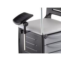 Cirandinha cadeira De Manicure 3 Gavetas 2 Prateleiras Dompel