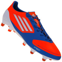 Chuteira de Campo Adidas F50 adiZero TRX SG Preta Azul Vermelha ... 2f0b98c1373c7