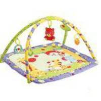 Tapete atividades infantil Mastela Urso Multicolorido com Arco