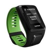 Relógio Tomtom Runner 3 Cardio Music Com Gps Verde Large