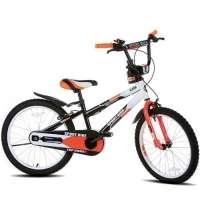 Bicicleta Infantil Sport Bike Top Cross Kids Aro 20 Preta, Branca e Laranja