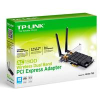 Adaptador TP-Link Archer T6E AC1300 Dual Band Wireless Preto