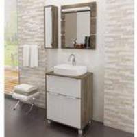 Gabinete para Banheiro com Pés e Espelheira Balcony - Supremo/Connect
