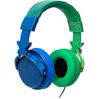 Fone de Ouvido Chilli Beans HEDGE TM-611MV/2-3 Azul e Verde