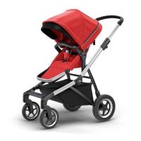 Carrinho De Bebê Thule Sleek Energy 15kgs Vermelho