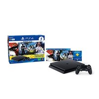 Playstation 4 Slim 500GB Hits Bundle 2 + 4 Jogos + Controle Wireless DualShock 4 Sony